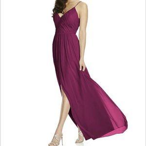 Dessy Dress Lux Chiffon Size 6